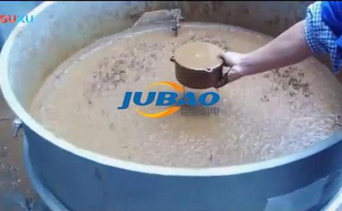 陶瓷泥浆筛分过滤专用振动筛