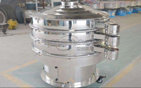 电动芝麻筛推荐-芝麻振动筛除叶除杆筛选机