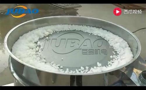 不锈钢圆型筛分机液体过滤试机