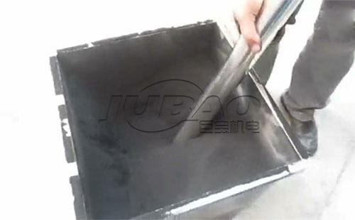 橡胶粉负压真空上料机客户试机视频