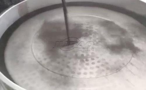 三元旋振筛筛分铁砂试机视频