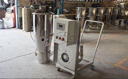碳素粉末密闭无尘真空上料机系统解决方案