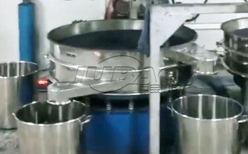 河北沧州三元旋振筛客户生产现场