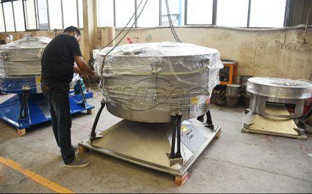 石膏粉筛分用那种振动筛分设备效果好?