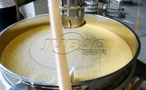 超声波振动筛筛分小米试机视频