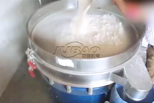 巨宝超声波振动筛筛分面粉试机