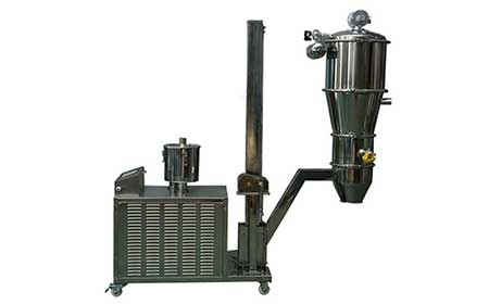 50公斤用真空上料机片碱试机